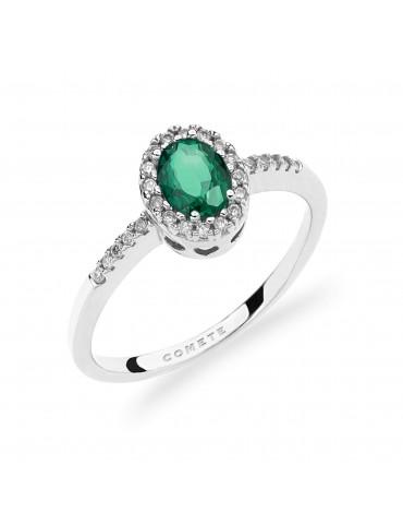 anello oro bianco con...